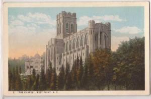 postcard cadet chapel